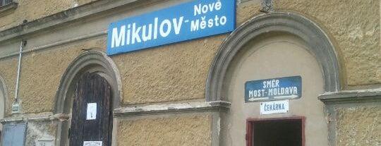 Železniční stanice Mikulov - Nové Město is one of Železniční stanice ČR: M (7/14).