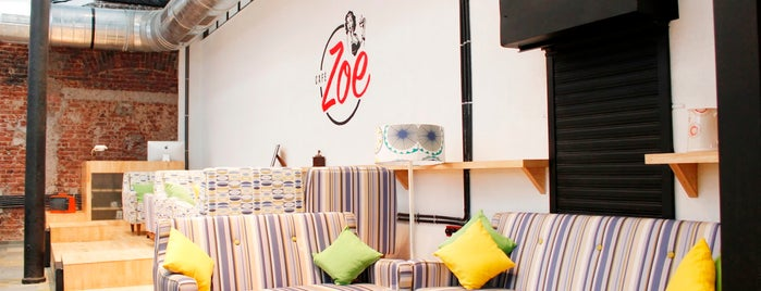 caf zoe is one of the 15 best places for breakfast food in mumbai - Breakfast House Restaurant Wall Designs