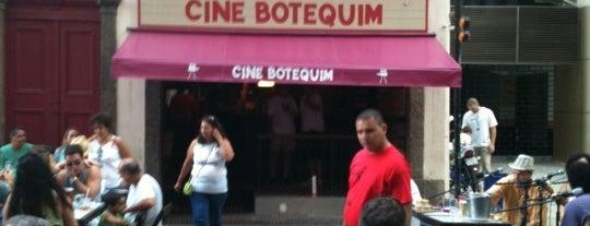 Cine Botequim is one of Almoço e Happy Hour no Rio de Janeiro.