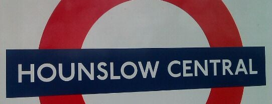 Hounslow Central London Underground Station is one of Tube Challenge.