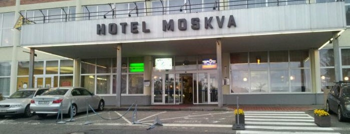 Hotel Moskva is one of The best venue of Zlin #4sqCities.