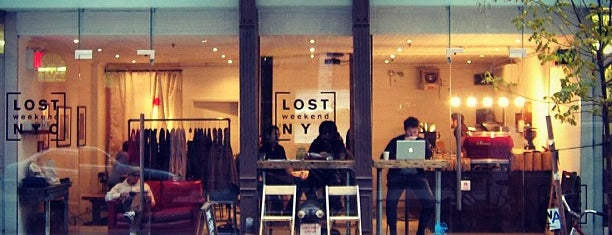 Lost Weekend NYC is one of Trendy Coffee.