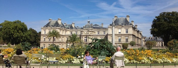 Luxembourg Garden is one of (anything) in Paris.