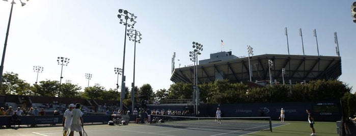 Court 14 - USTA Billie Jean King National Tennis Center is one of US Open Courts.