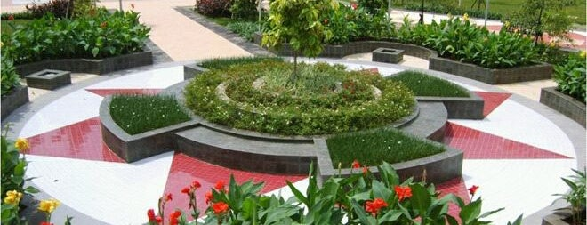 Taman Menteng is one of Jakarta. Indonesia.