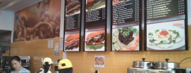 Paris Sandwich is one of chinatown spots.