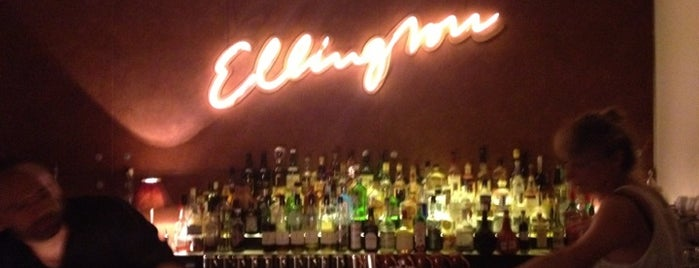 Bar Ellington is one of yas's choice.
