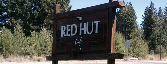 Red Hut Café Nevada is one of Best Breakfast South Lake Tahoe.