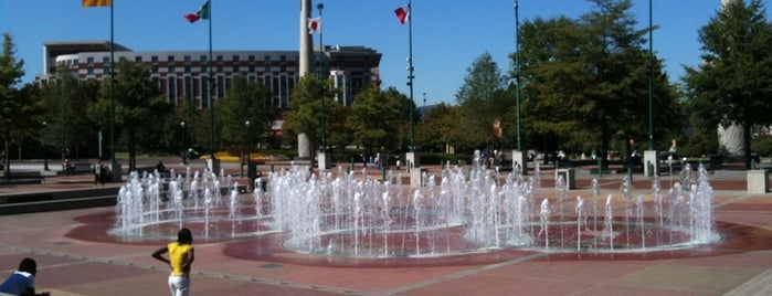 Centennial Olympic Park is one of Top 10 favorites places in Atlanta, GA.