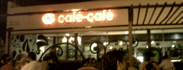 Café Café is one of Comida.