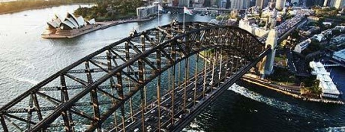 Sydney Harbour Bridge is one of #America+Oceania revisited.
