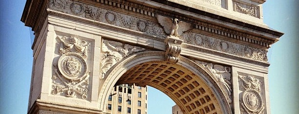 Washington Square Arch is one of Park Highlights of NYC.