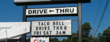 Taco Bell is one of Important.