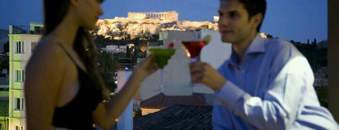 O&B Athens Boutique Hotel is one of Places.