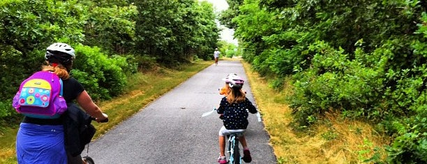 Cape Cod Rail Trail is one of Landmarks.