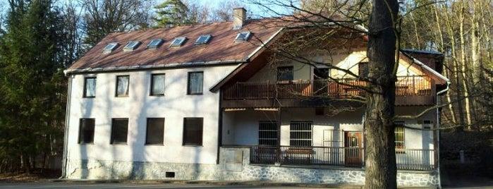 Chata Živec is one of Písek.