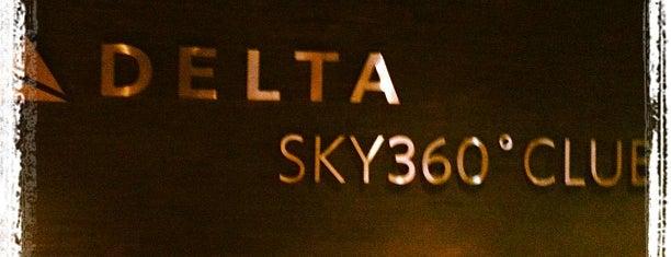 Delta Sky360 Club is one of Baseball Venue NY.