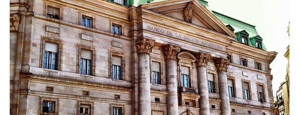 Banco de la Nación Argentina is one of Cúpulas de Buenos Aires.