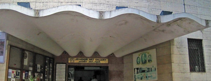 Jehangir Art Gallery is one of Inspired locations of learning.