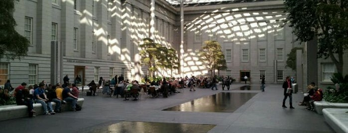 Robert and Arlene Kogod Courtyard is one of DC's favorites.