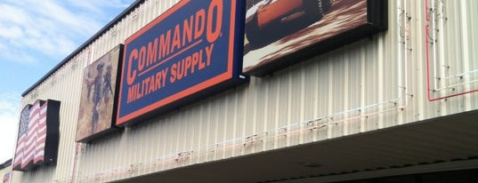 Commando Military Supply is one of Fk.