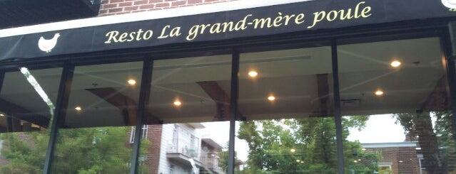 La Grand-Mère Poule is one of Quartier Rosemont.