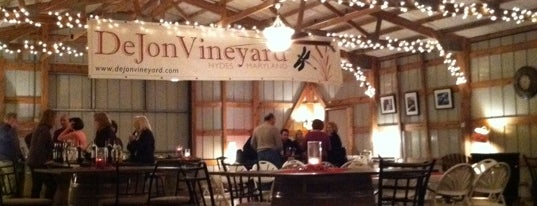 DeJon Vineyards is one of Wineries.
