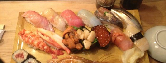 魚河岸 鮨文 is one of lieu a Tokyo 2.