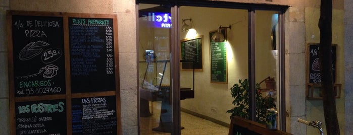 La Pizza is one of In&Out Barcelona venues.
