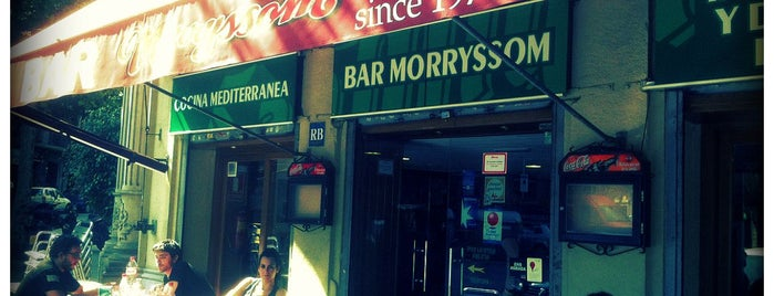 Bar Morryssom is one of In&Out Barcelona venues.