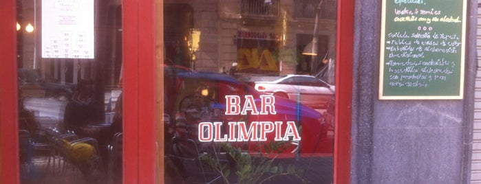 Bar Olimpia is one of Barcelona Hipster.
