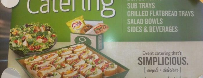 Quiznos is one of Campus Eats.