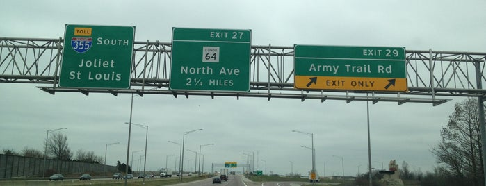 Veterans Memorial Tollway is one of Ousts.