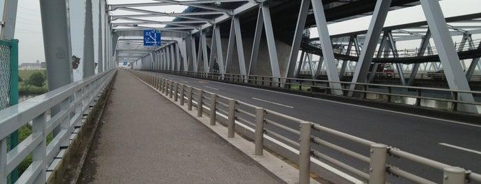 葛飾大橋 is one of サイクリング.
