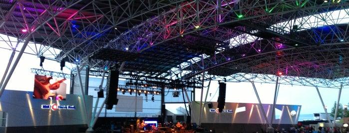 BMO Harris Pavilion is one of Megan'ın Beğendiği Mekanlar.