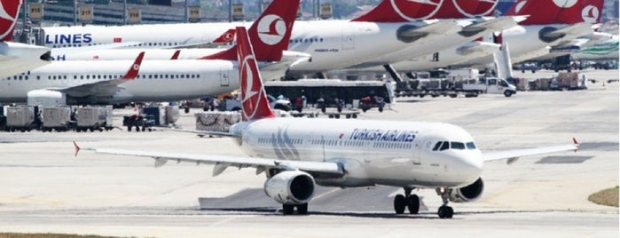 Istanbul Atatürk Airport (IST) is one of My Airports.