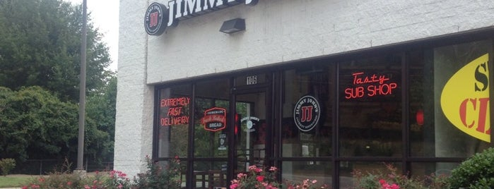 Jimmy John's is one of I dunno, where do you wanna eat?.