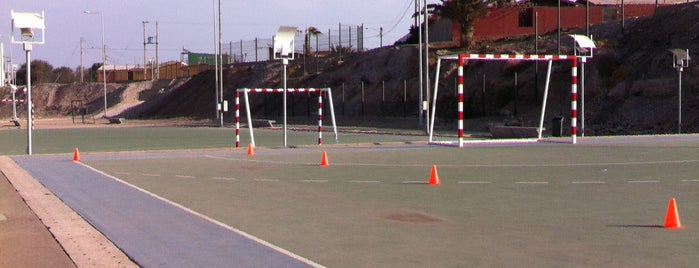 Canchas Handball is one of lugares arica.