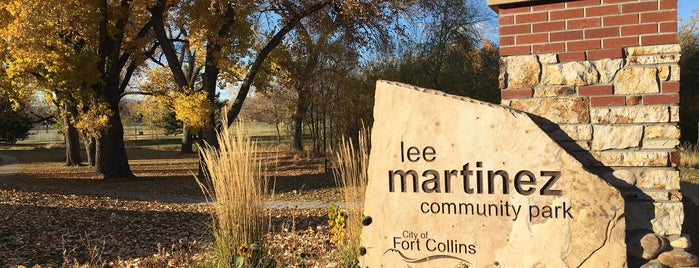 Lee Martinez Park is one of Whatever.