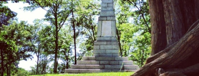 Kings Mountain National Military Park is one of National Parks.