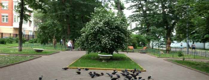 Михайловский (Замоскворецкий) парк is one of ордынка.