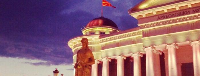 Skopje is one of cities.