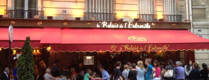 Le Relais de l'Entrecôte is one of Paris.