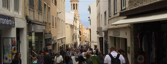 Maó / Mahón is one of MENORCA AGOSTO 12.