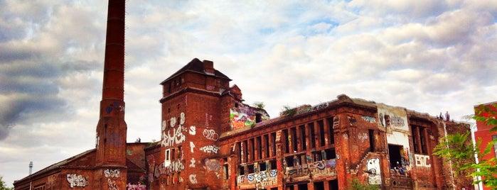 Eisfabrik is one of Berlin go.