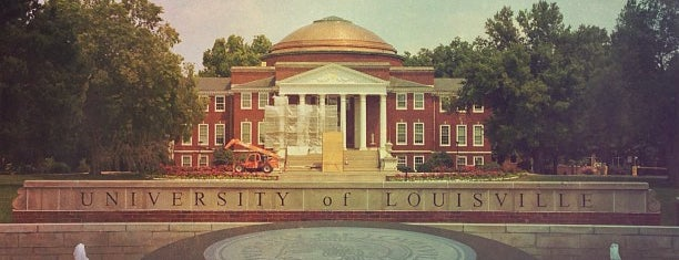 University of Louisville is one of Colleges I've Visited.
