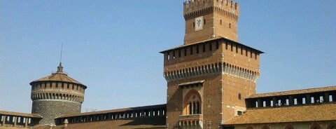 Sforza Castle is one of Milano.