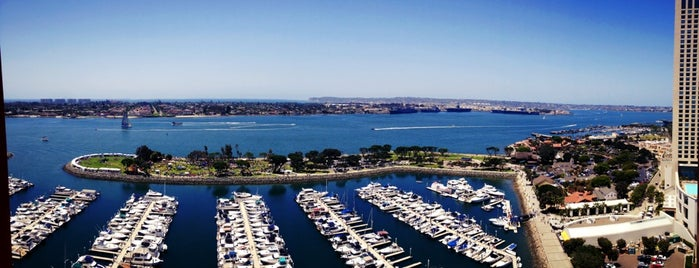 Marriott Marquis San Diego Marina is one of Airports and hotels I have known.