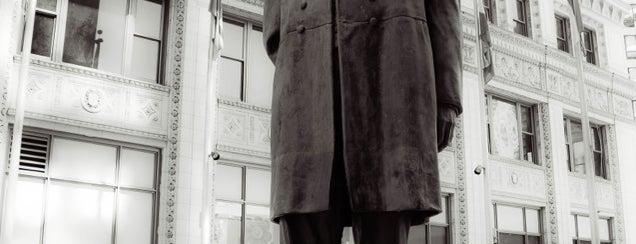 Plaza De Las Americas Benito Juarez Statue is one of Chicago.
