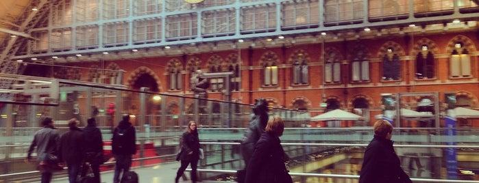 London St Pancras International Railway Station (STP) is one of London.